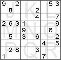 Sudoku Instructions - unsolved sudoku puzzle