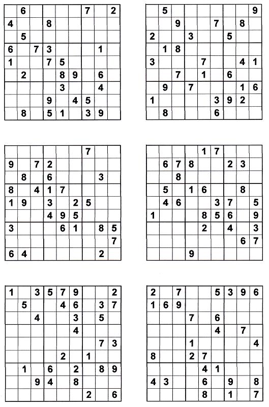 Sudoku Print Outs http://sudoku-instructions.com/sudoku-printables ...